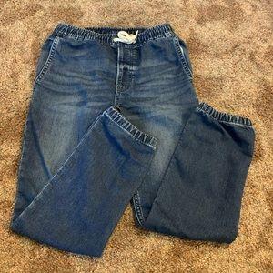 Boys GAP Jogger Style Denim Pants